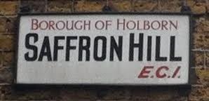 Saffron Hill, Holborn