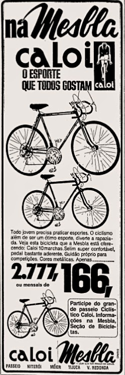 caloi. brazilian advertising cars in the 70. os anos 70. história da década de 70; Brazil in the 70s; propaganda carros anos 70; Oswaldo Hernandez;