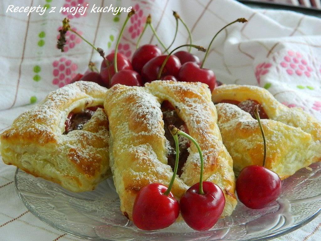 Tvarohové taštičky s ovocím