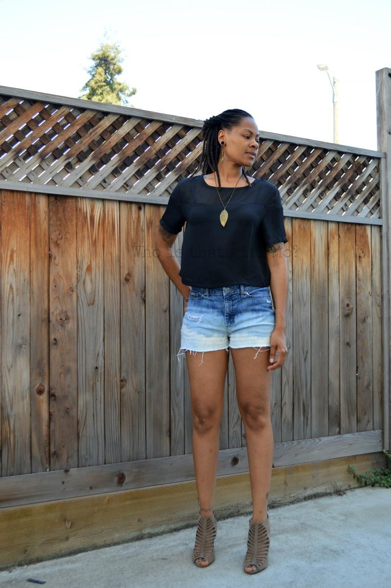 shorts weather {whoisthatgirlmo}
