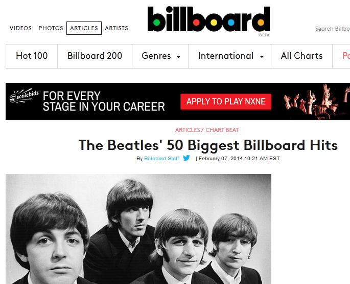 Najlepsza 50-tka wg. Billboardu (USA)