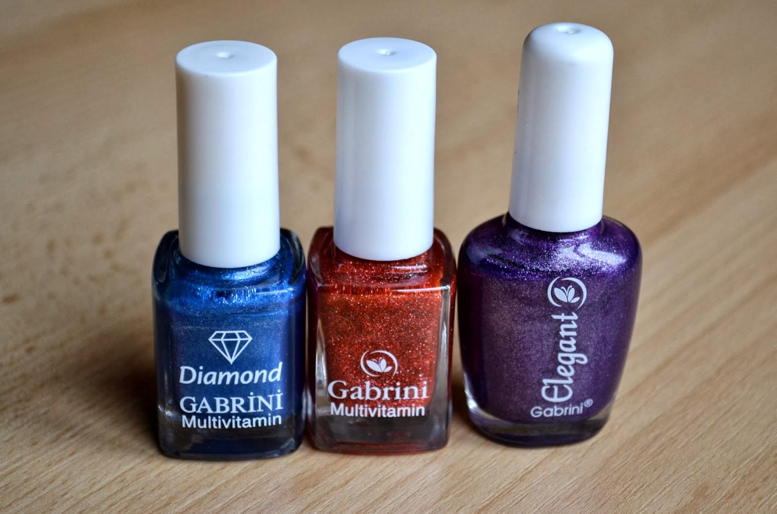 Gabrini nail polishes