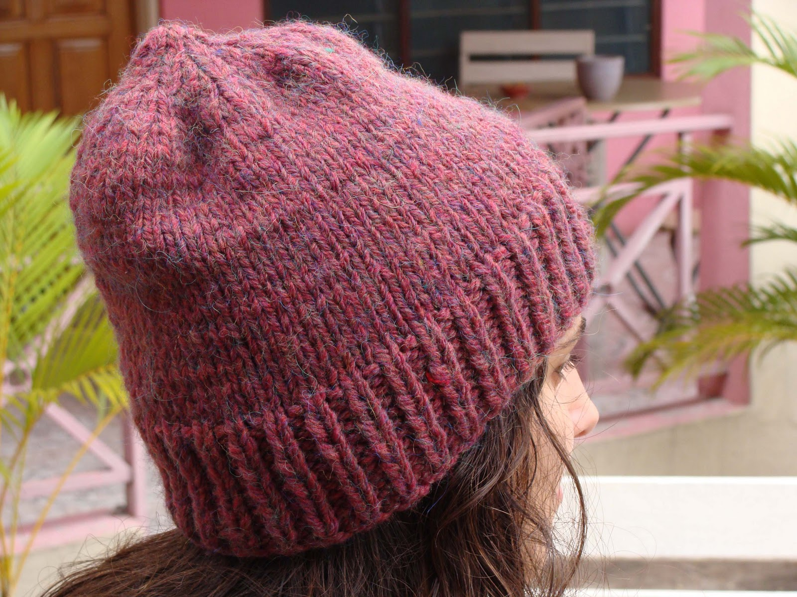 Gorro de lana simple by dejandoelparaiso