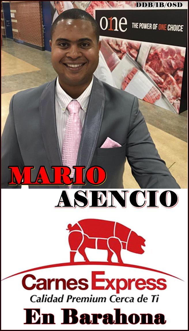 CARNES EXPRESS BARAHONA Y SU PROPIETARIO MARIO ASENCIO...CALIDAD Y SERVICIO PERSONALIZADO