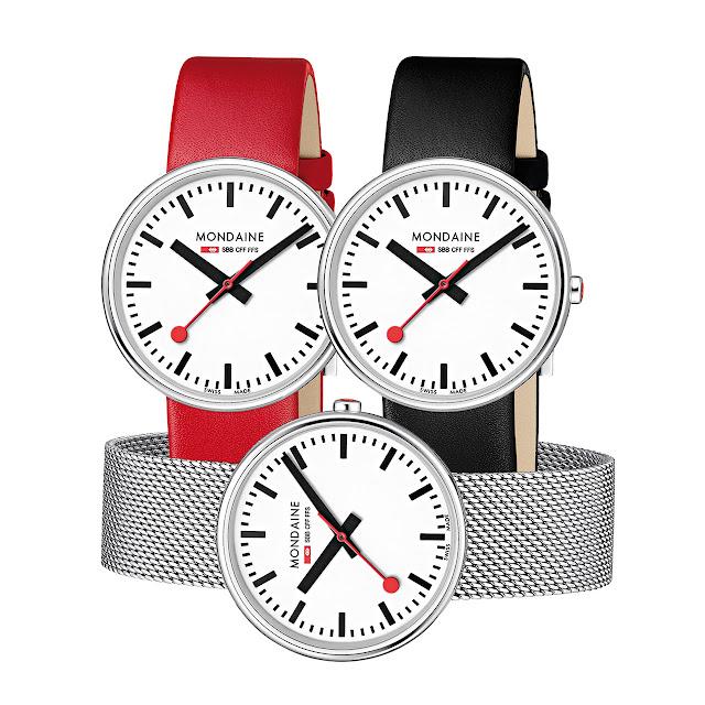 Mondaine SBB Mini Giant Watch