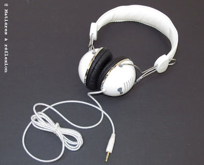 Casque blanc audio Spitfire
