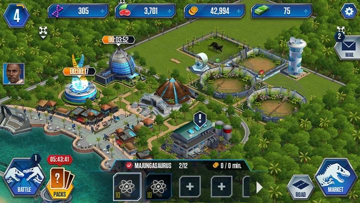Jurassic World™: Игра   Вымершие животные вики …