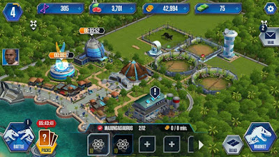 The huh jurassic world the game review android - Jurassic park builder decorations ...