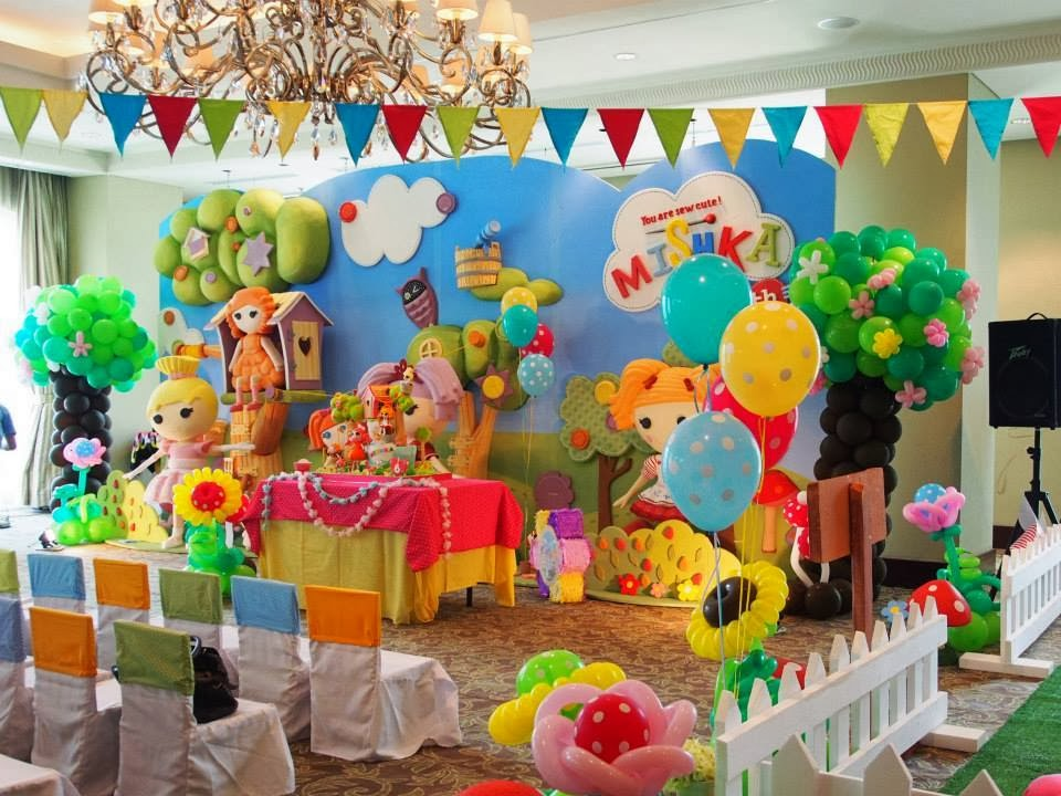 Festa com tema Lalaloopsy
