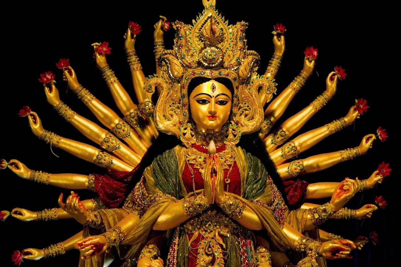 Durga Puja Wishes Lord Maa Durga Hd Free Godimages