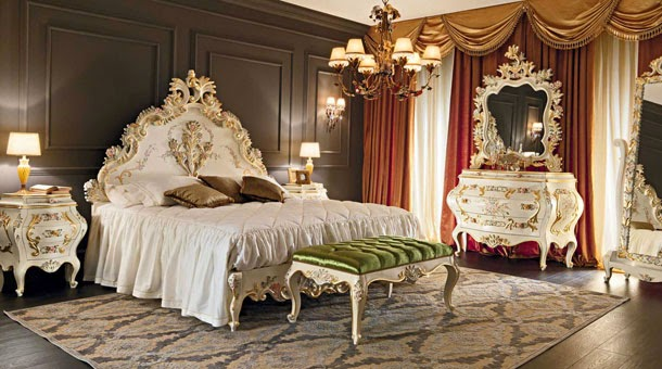 minimalist home design decor, luxury classic bedroom with royal furniture minimalist style