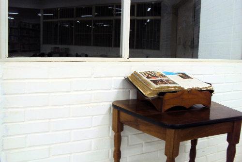 Bíblia na biblioteca do IFC, campus Concórdia