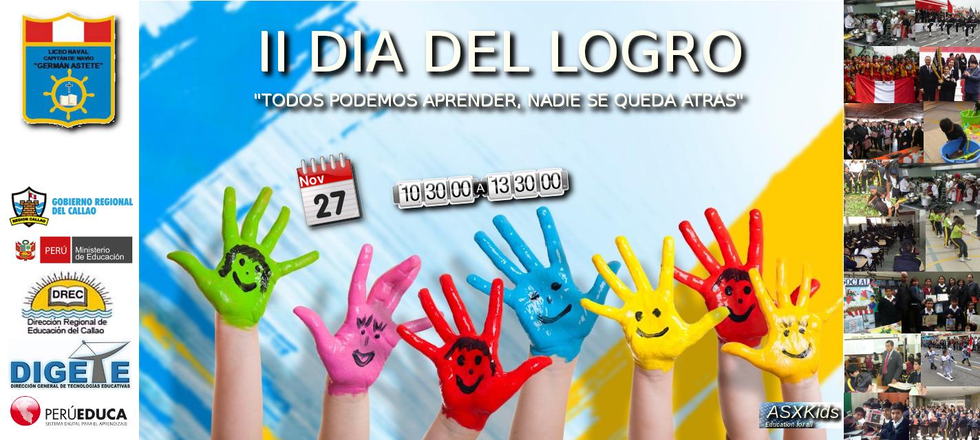 Recursos Educativos : Liceo C.N. Germán Astete - II Día del Logro