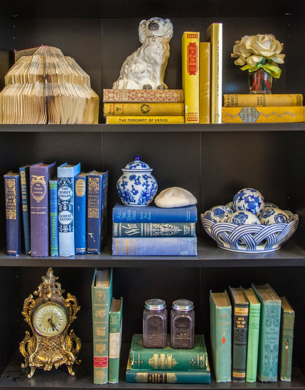 Add interest to your book shelf