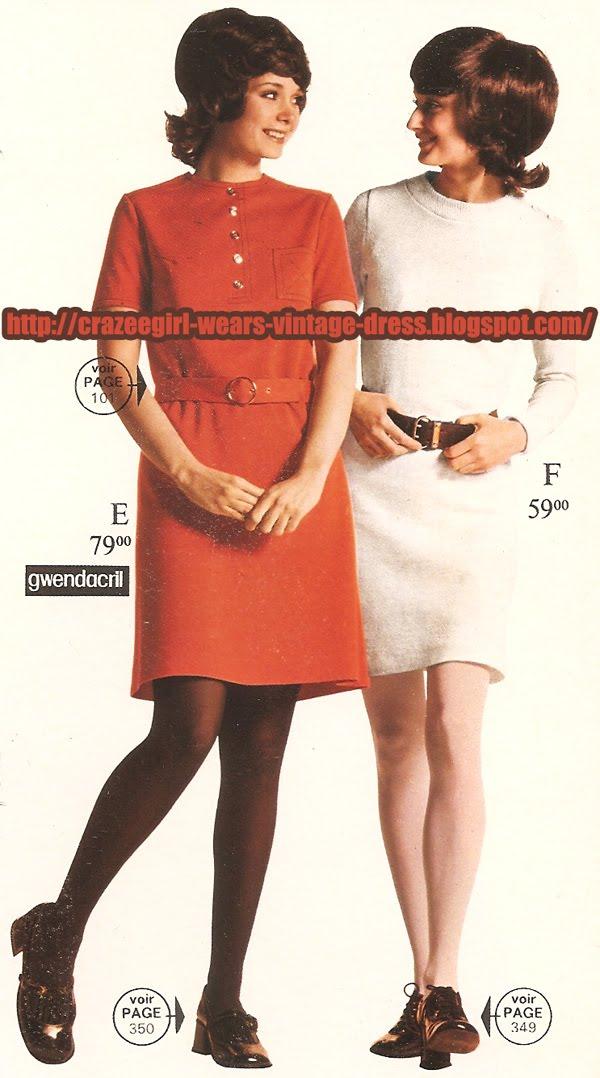 70s 1970 knit dress