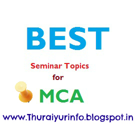 seminar topics for mca
