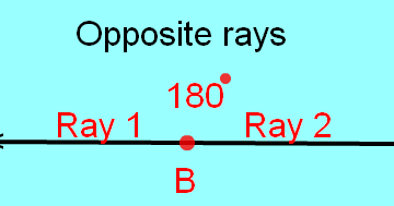 Answers To Math Problems: Opposite Rays Geometry