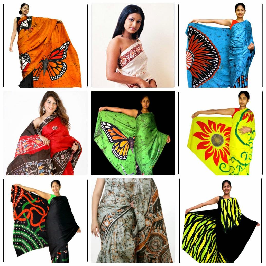 Sri Lankan Saree Designs