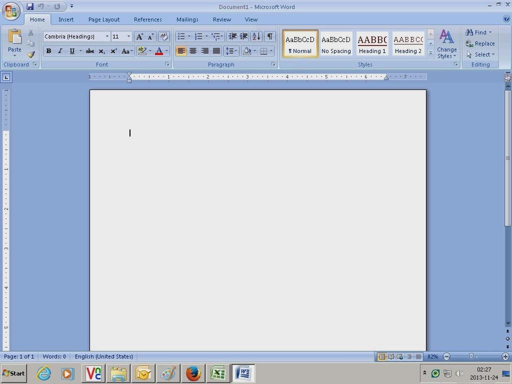 cara membuat cv di ms word