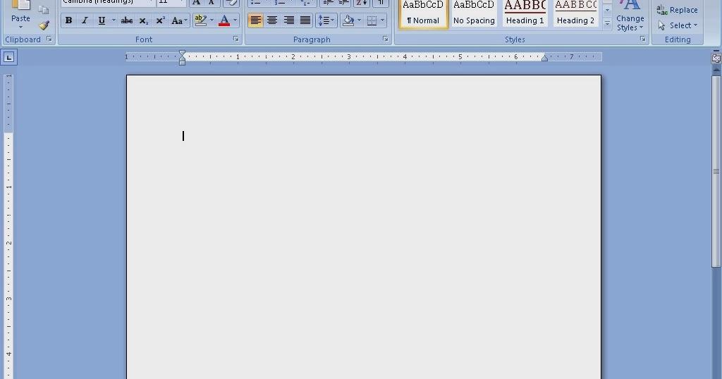 Cara mudah membuat CV resume pada Microsoft Word