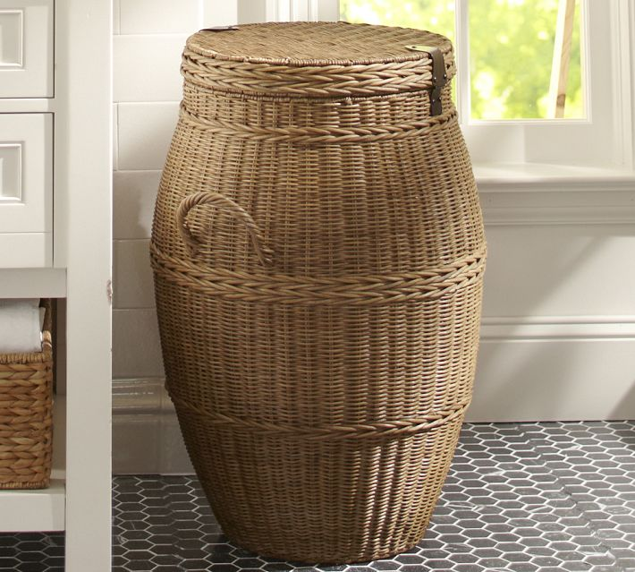 This one from Pottery Barn is an astonishing  241 68  Who would pay this   Next    This Branas laundry basket. Mayne Island Cottage