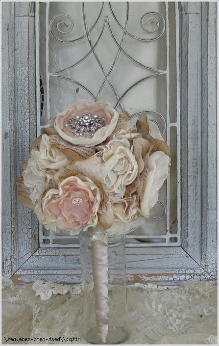 Цветы из ткани. Flowers from tissue