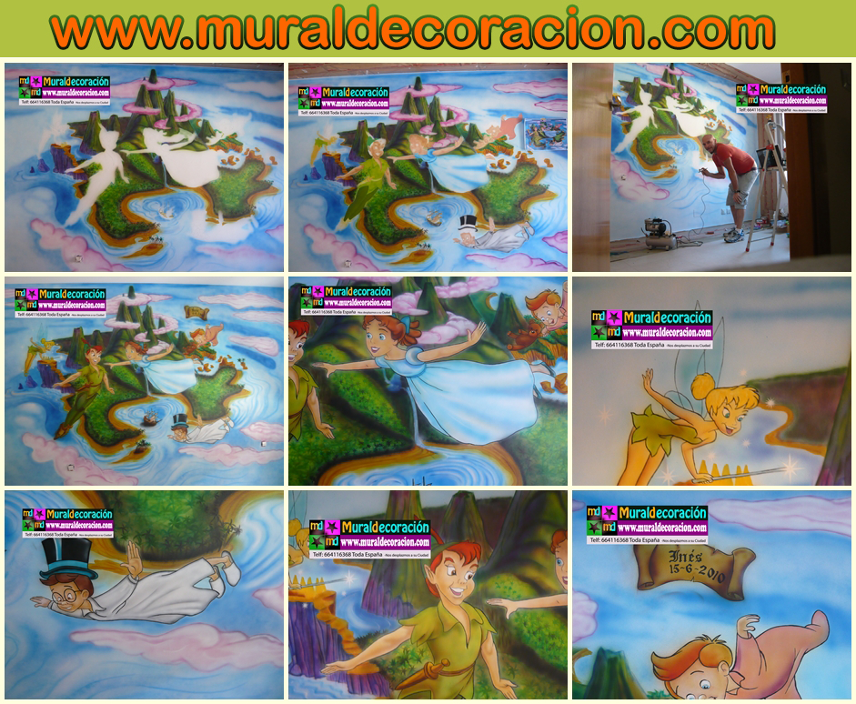 Murales y vinilos Minnie Mouse