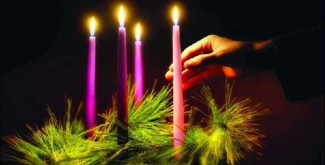 on the third sunday of advent many churches light a pink candle on the advent wreath we dont do this for mere aesthetics were not inserting an