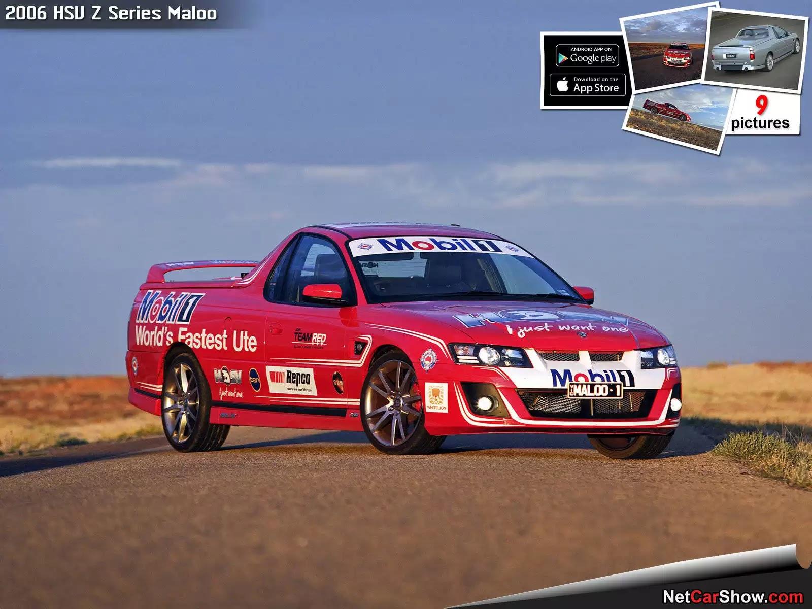 Hình ảnh xe ô tô HSV Z Series Maloo 2006 & nội ngoại thất