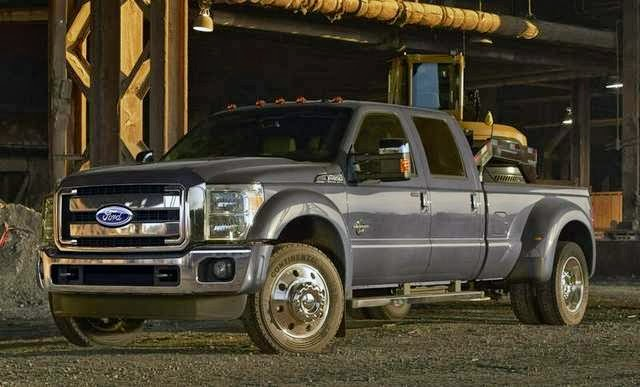 2015 Ford Super Duty Model Gets Beefy