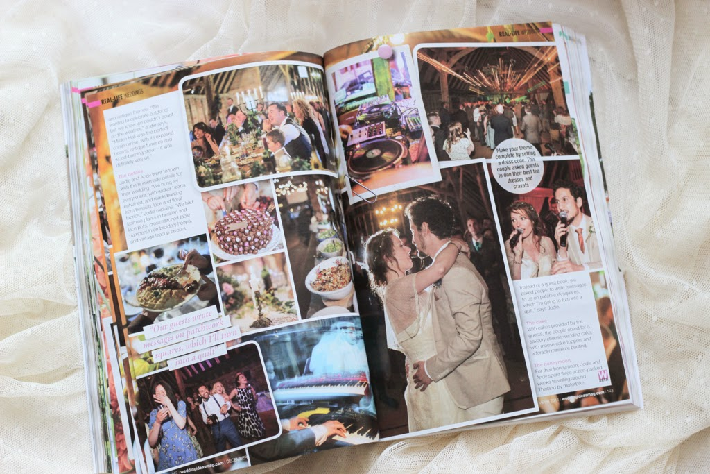 Wedding ideas magazine feature