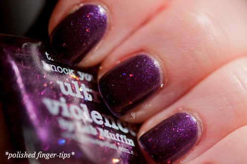 Picture Polish Ultra Violence - artificial light