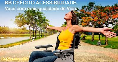 Banco do Brasil Crédito acessibilidade