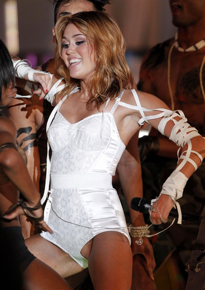 Miley Cyrus Panties
