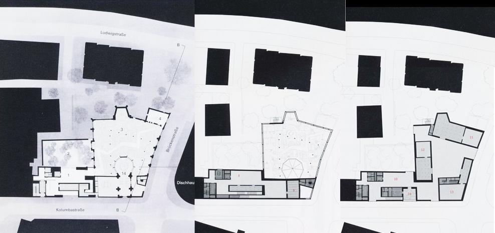Third Floor Elevation : My architectural moleskine peter zumthor kolumba museum