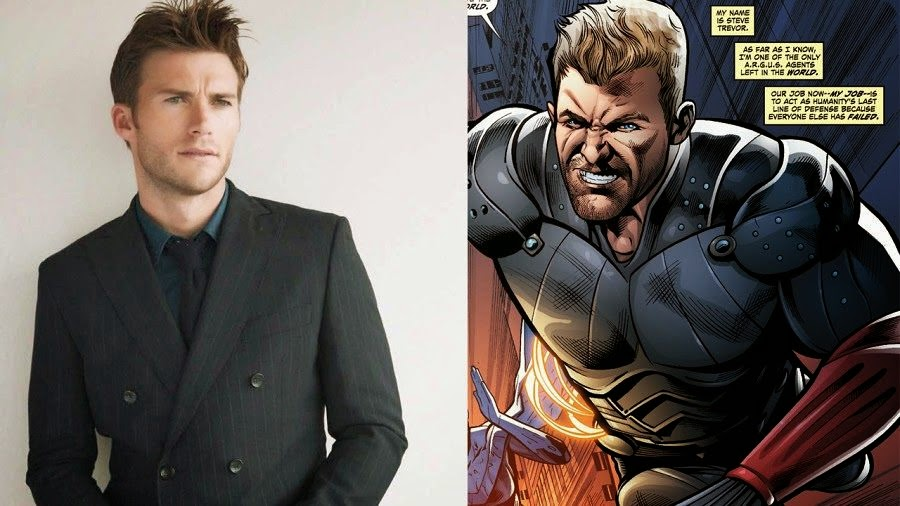 Scott Eastwood to play Wonder Woman character Steve Trevor in DC's 2016 film Suicide Squad