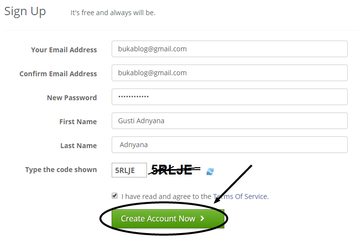 Cara memasang Aplikasi Chatting online di blog