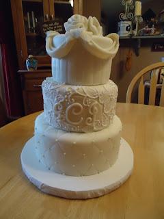 CakeBoss White Velvet Wedding Cake Recipe