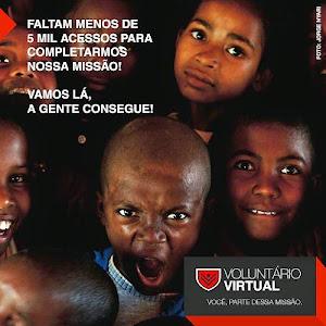 Seja um voluntário virtual!