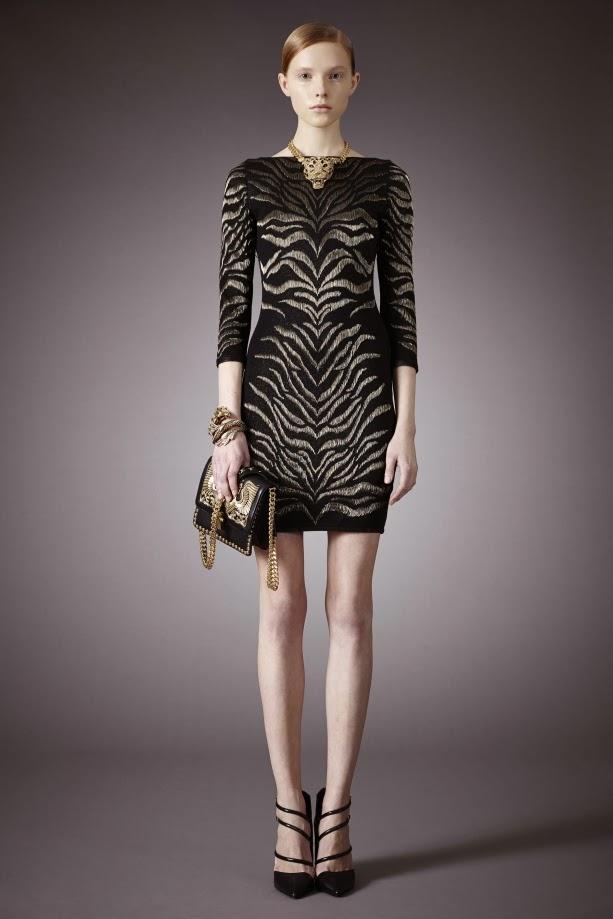 Colecția de rochii de toamna / iarna 2014-15 al lui Roberto Cavalli