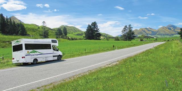 United autocamper i New Zealand