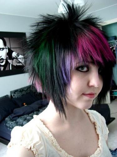 Beautiful Emo Hairstyle