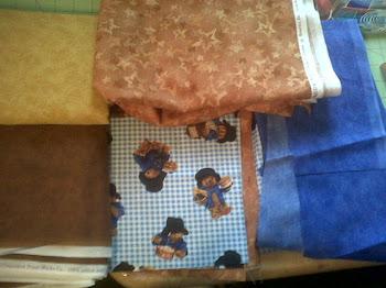 PattingTon Bear Fabric!