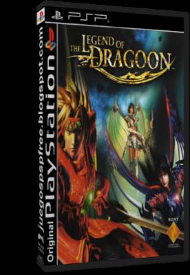 the legend of dragoon psp iso español