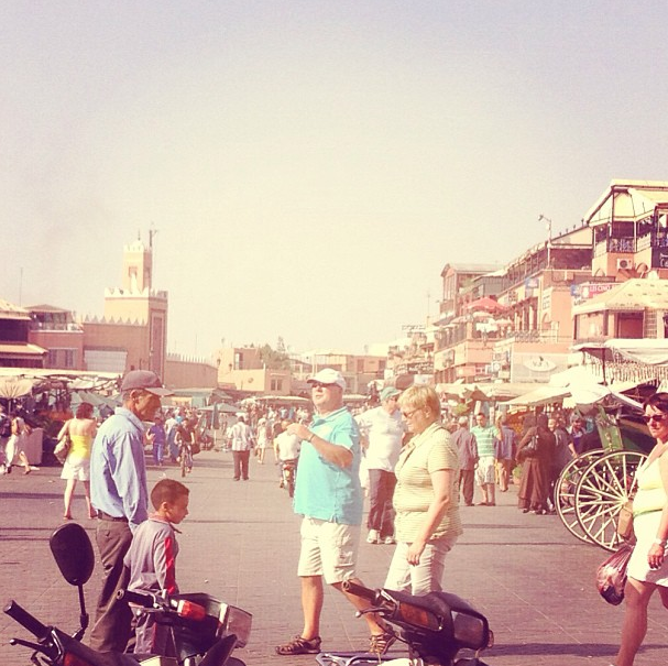 Hot Day in Marrakesh, Morocco