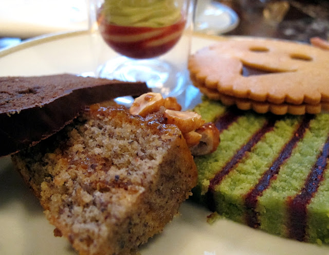L'heure du thé au Crillon - Gâteaux de voyage