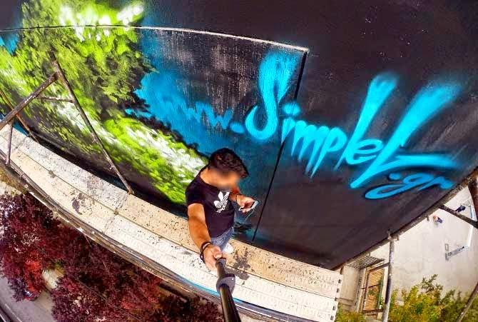Κέρδισε ένα σχέδιο graffiti σε χαρτί με υπογραφή του SimpleG
