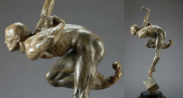Richard MacDonald 1946 | American figurative sculptor | Cirque du Soleil