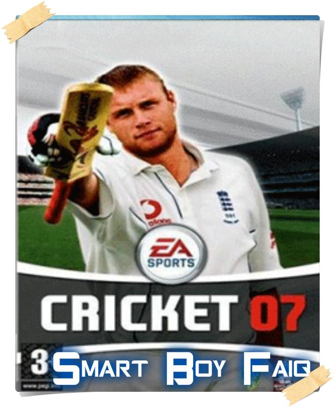 Ea sports cricket 07 smart boy faiq for Smart cricket