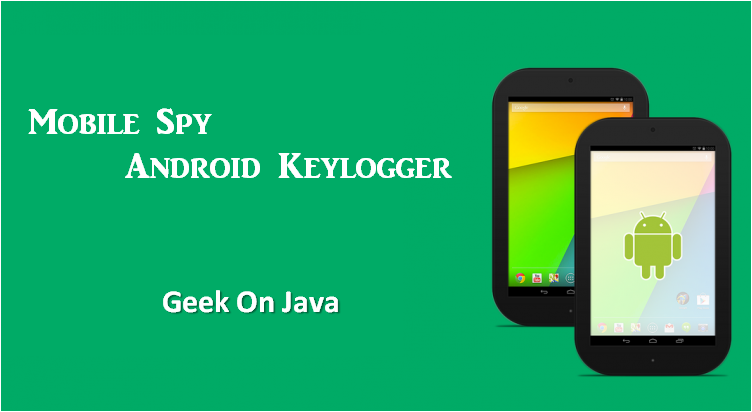 Simple android keylogger